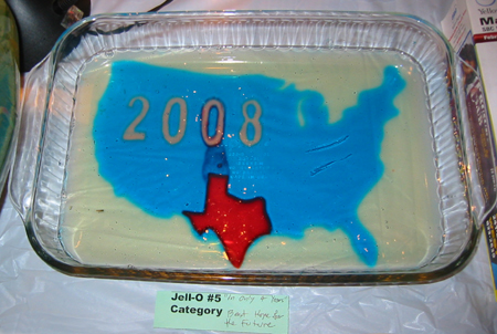 2008 Texas only red state